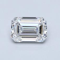 推荐宝石 2:0.80 克拉祖母绿切割钻石