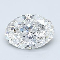 推薦鑽石 #2: 1.20  克拉橢圓形切割
