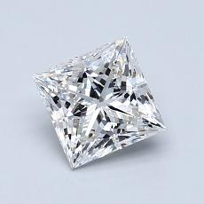 1.01 Carat Princesa Diamond Muy buena G VS2