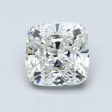 1.08-Carat Cushion Diamond Very Good H IF