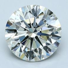 Recommended Stone #2: 4.12-Carat Round Cut