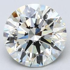 Recommended Stone #2: 4.44-Carat Round Cut