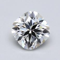 1.06-Carat Cushion Diamond ASTOR G VS1