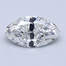Recommended Stone #1: 1.08-Carat Marquise Cut