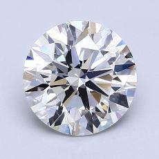 1.81-Carat Round Diamond Ideal G VS2