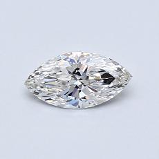 推荐宝石 1:0.40 克拉马眼形切割