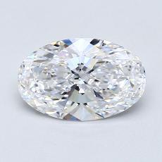 推薦鑽石 #4: 1.24  克拉橢圓形切割