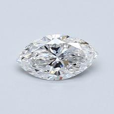 推薦鑽石 #4: 0.51 克拉欖尖形切割