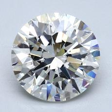 Recommended Stone #2: 4.02-Carat Round Cut