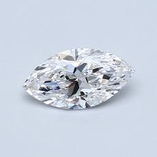 Current Stone: 0.50-Carat Marquise Cut