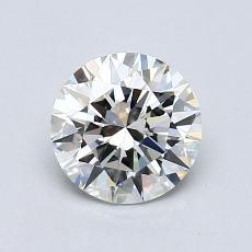 1.00-Carat Round Diamond Ideal J VVS1