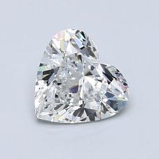 オススメの石No.1:0.90 Carat Heart Shaped