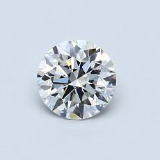 Recommended Stone #4: 0,57-Carat Round Cut