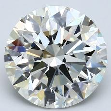 Recommended Stone #3: 4.05-Carat Round Cut