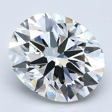 Recommended Stone #3: 2.11-Carat Oval Cut