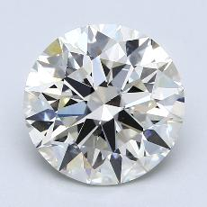 Recommended Stone #2: 4.01-Carat Round Cut