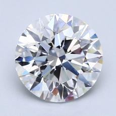 Recommended Stone #2: 2.09-Carat Round Cut
