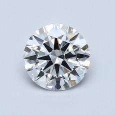 Recommended Stone #4: 0.92-Carat Round Cut