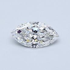 推薦鑽石 #3: 0.42 克拉欖尖形切割