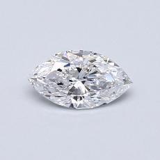 推薦鑽石 #4: 0.40 克拉欖尖形切割