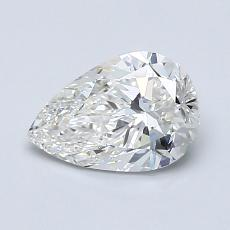 Recommended Stone #3: 1.00-Carat Pear Shaped