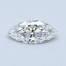 Recommended Stone #2: 0.42-Carat Marquise Cut