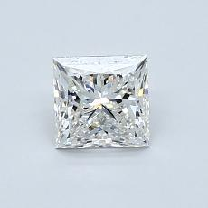 Recommended Stone #4: 0.80-Carat Princess Cut