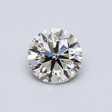 Recommended Stone #3: 0.62-Carat Round Cut