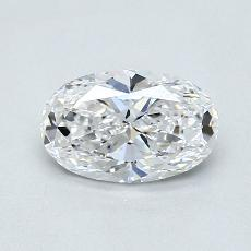 Recommended Stone #4: 1,01-Carat Oval Cut