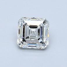 推薦鑽石 #1: 0.73 克拉上丁方形切割