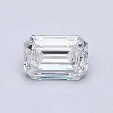 Recommended Stone #4: 0,91-Carat Emerald Cut