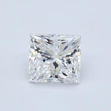 Recommended Stone #2: 0.77-Carat Princess Cut