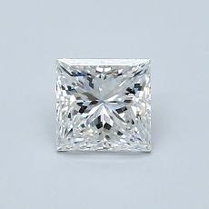 Recommended Stone #2: 0.70-Carat Princess Cut