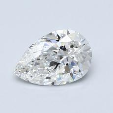 Recommended Stone #2: 0,80-Carat Pear Shaped