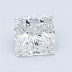 推荐宝石 4:1.24 克拉公主方形钻石