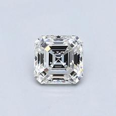 Recommended Stone #2: 0.51-Carat Asscher Cut Diamond