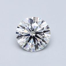 0.71 Carat 圓形 Diamond 理想 D VVS2