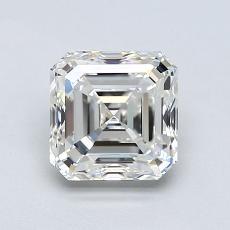 Pierre recommandée n°4: Diamant taille Asscher 1,20 carat