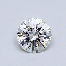 Recommended Stone #4: 0.59-Carat Round Cut Diamond