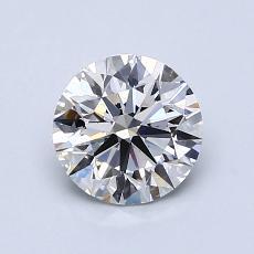1.06 Carat Redondo Diamond Ideal F VS2