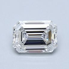 Recommended Stone #1: 1.00-Carat Emerald Cut Diamond