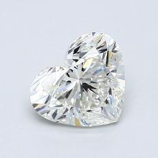 オススメの石No.1:0.91カラットのハートカットダイヤモンド