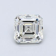 Pierre cible: Diamant taille Asscher 0,90 carat