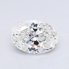 0.81 Carat Ovalado Diamond Muy buena F VVS2