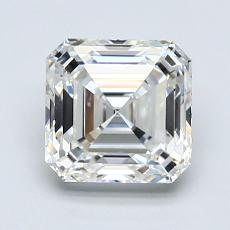 Recommended Stone #1: 1.75-Carat Asscher Cut Diamond
