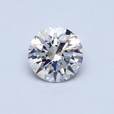 0.56 Carat 圆形 Diamond 理想 G VS1