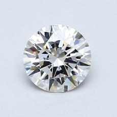 Recommended Stone #1: 0,90-Carat Round Cut Diamond
