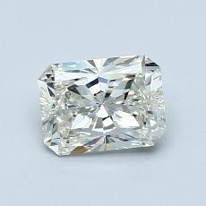 0.90-Carat Radiant Diamond Very Good J SI1