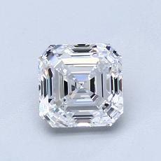 Recommended Stone #3: 1,10-Carat Asscher Cut Diamond