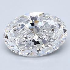 推荐宝石 4:2.01克拉椭圆形切割钻石